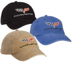 C6 Corvette Hat -- Black or Khaki