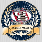 GSR Lifetime Member Lapel Pin