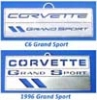 C4/C6 Grand Sport Emblem Christmas Ornaments