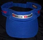 C4 Grand Sport Custom Embroidered Visor