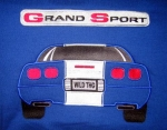 C4 Grand Sport Custom Embroidered Sweatshirts