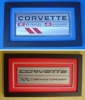 C4/C6 Grand Sport Emblem Shadowbox Art