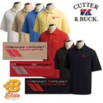 C6 Grand Sport Cutter &amp; Buck 100% Cotton Polo -- <font color=red>CLOSEOUT SALE!</font>